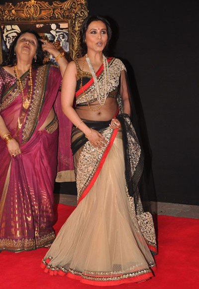 Good Rani mukherjee hot transparent saree opinion