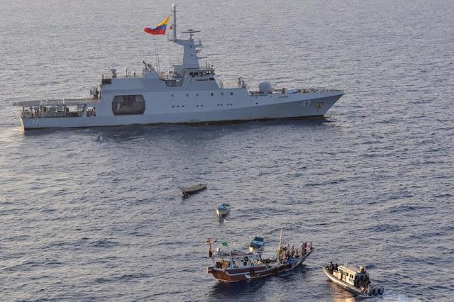 El patrullero ARC 7 de Agosto finalizó las operaciones de seguridad marítima en África, en el marco de las operaciones Atalanta y Ocean Shield.