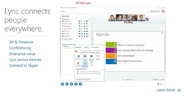 Get linked with Microsoft Lync, Unified Communicator (formerly Microsoft Office Communicator)