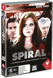 Spiral season three dvd Engrenages