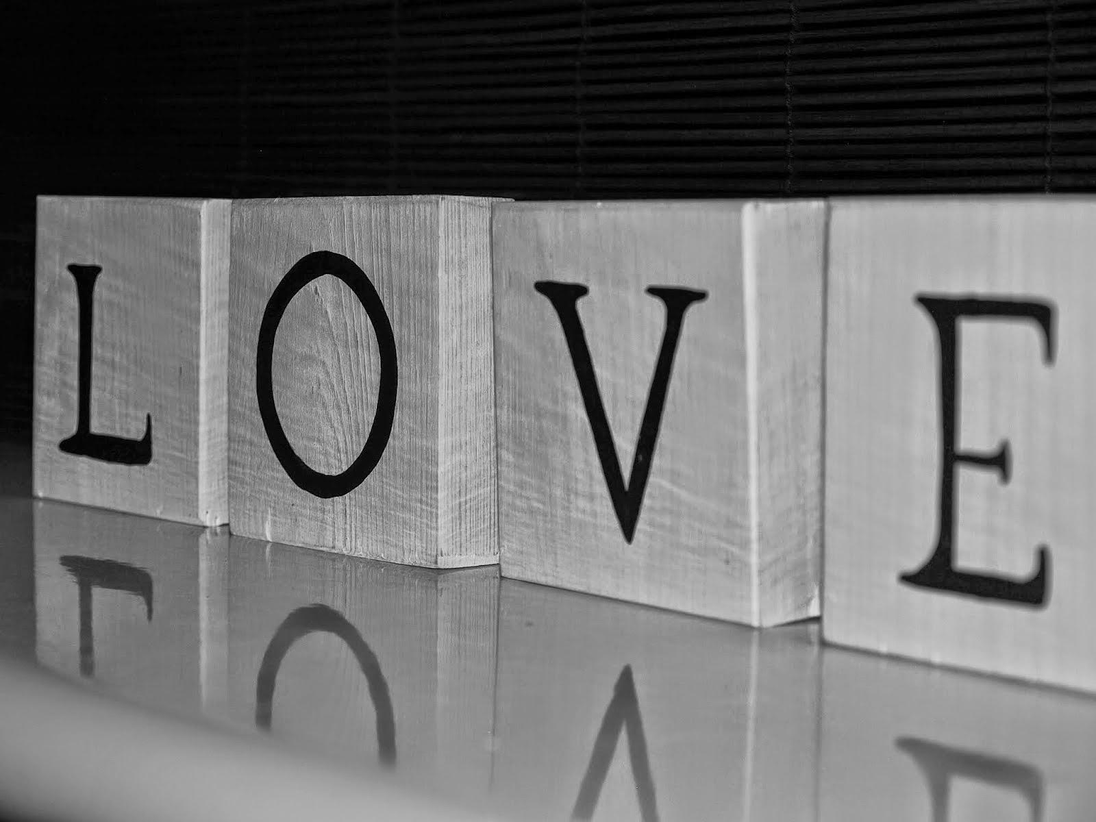 kostki LOVE