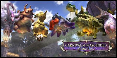 Rift вышел патч 2.2 Carnival of the Ascended