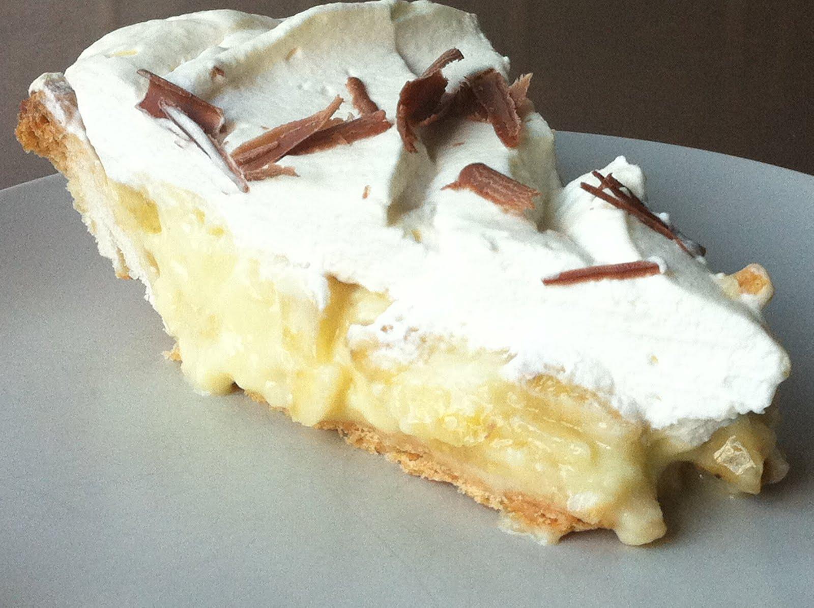 The Hobby that Made Me Chubby: Banana Cream Pie