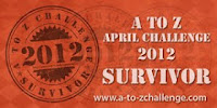 A-Z Challenge, Survivor Badge