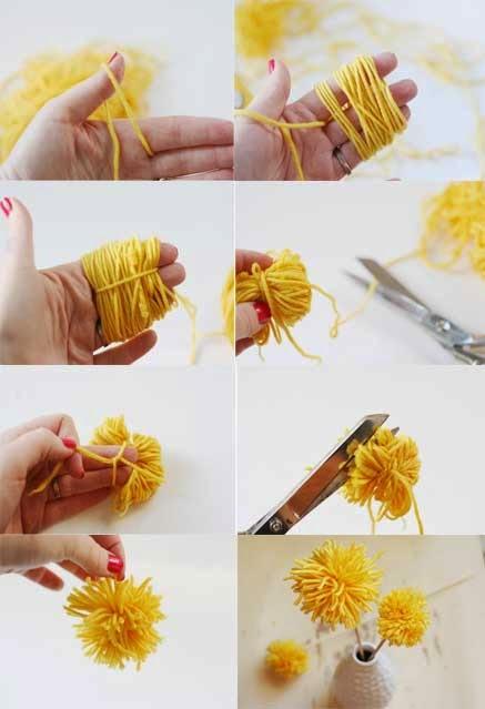 El blog de concha rodrigo mayo 2015 - Como hacer manualidades con lana ...