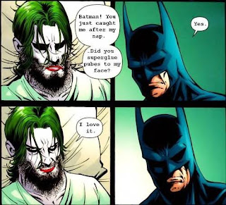 funny batman and joker comic