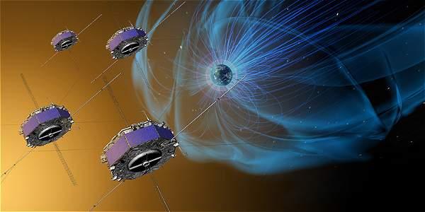 Reconexión magnética entre la Tierra y el Sol