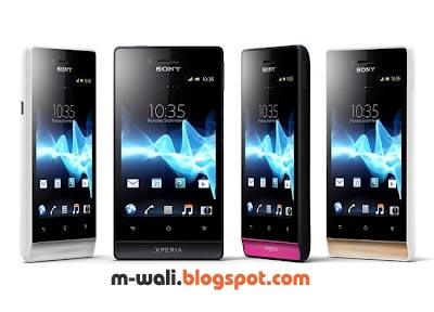 Spesifikasi dan Harga Sony Xperia Miro Spesifikasi dan Harga Sony