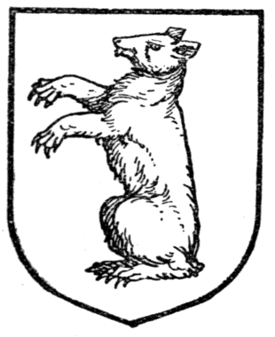 bear in medieval heraldry