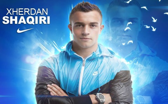 Football: Xherdan Shaqiri 2013 HD Wallpaper