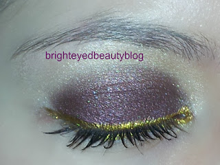 Eye look using theBalm's Balm Jovi palette and Lime Crime's Uniliner in Rhyme