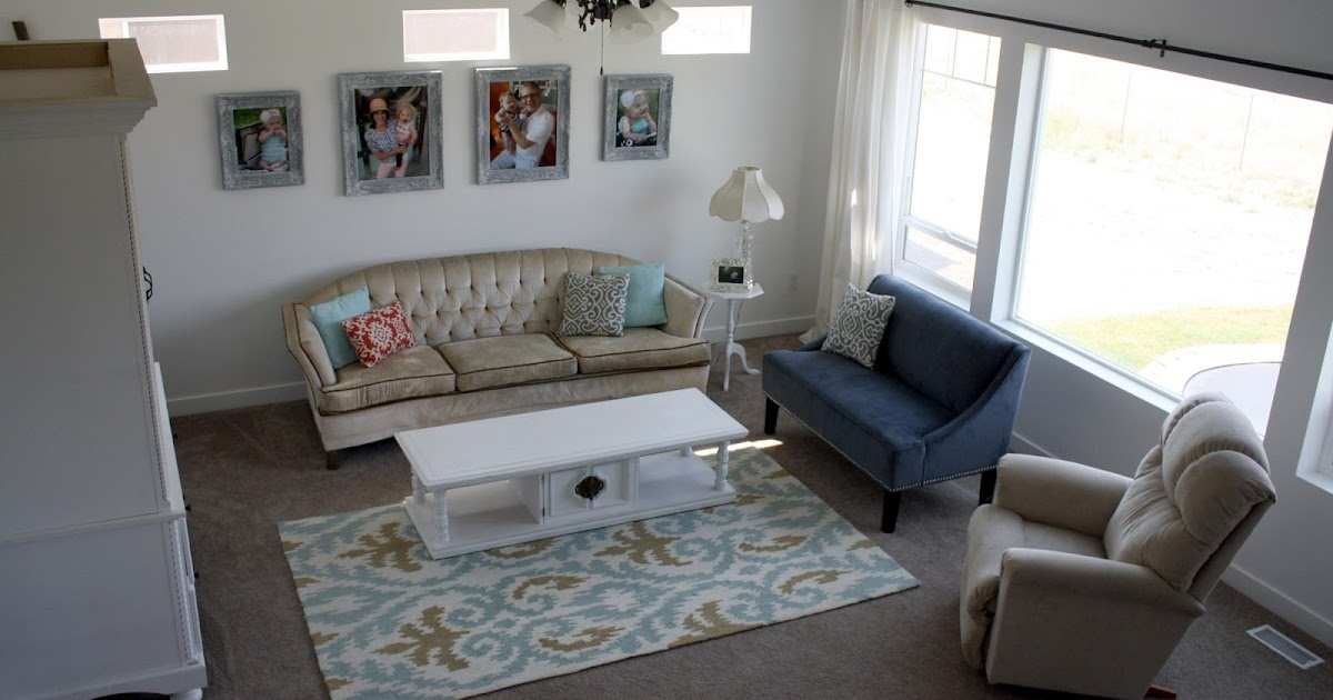 Nifty thrifty momma our home tour living room reveal for S carey living room tour