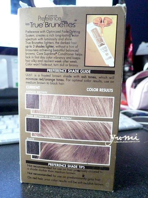 Loreal Hi Lift Ash Brown Ul 61 Reviews | Dark Brown Hairs