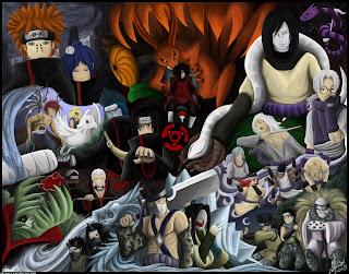 Wallpaper Musuh-Musuh Naruto