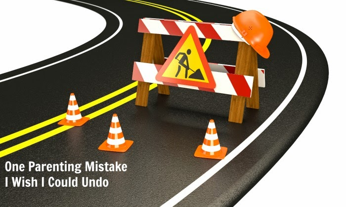 One parenting mistake I wish I could undo