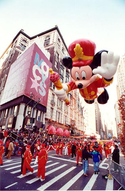 Parada de Ação de Graças da Macy's, em Nova York