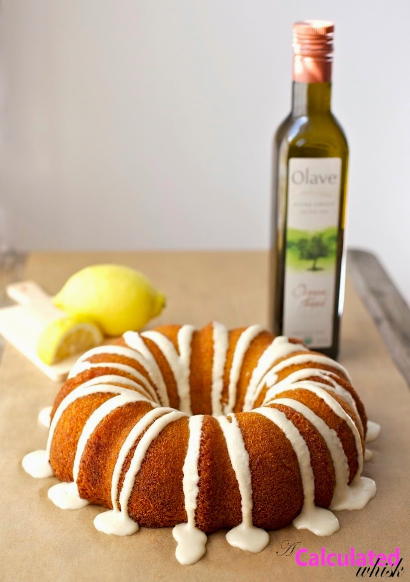 Lemon Olive Oil Cake (Paleo, Grain-free, Kosher for Passover) acalculatedwhisk.com