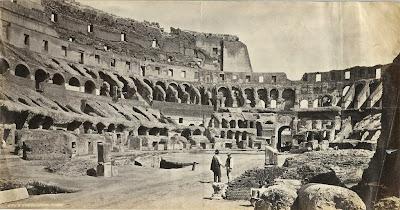 Coliseum Roma 1870