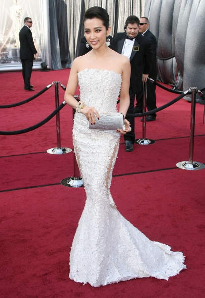 Look Li Bingbing Oscar 2012