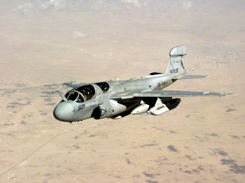 EA-6B Prowler Electronic Warfare Aircraft