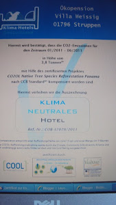 Zertifikat Klimaneutrale Pension