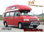 VW  T 4  EXCLUSIVE   CALIFORNIA, 2.5  T.D.I.  AÑO 2000, 102 CV, WESTFALIA