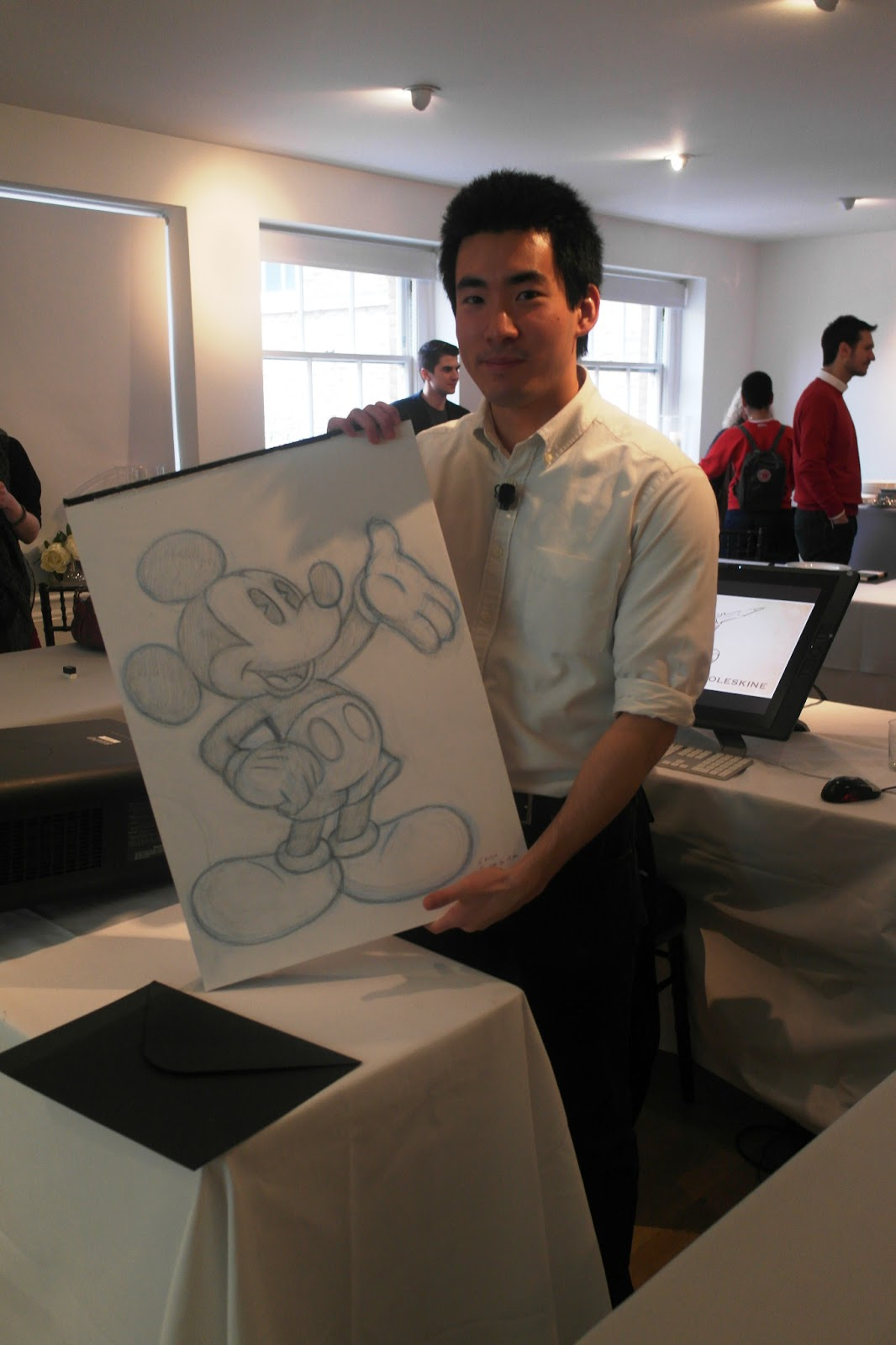 Mickey Mouse disney cartoonist