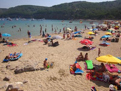Montgó beach in L' Escala