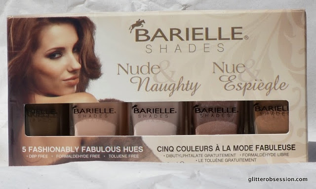 barielle, barielle nail polish, nail polish, barielle nude & naughty collection