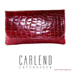 Queen Maxima Style - CARLEND COPENHAGEN Clutch Bag and  NATAN Dress