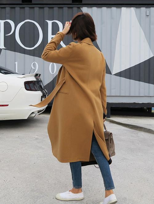 Belted Long Coat