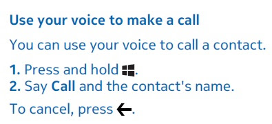 contoh procedure text how to use voice for calling