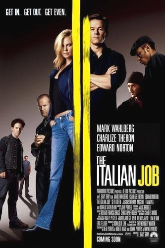 Poster of The Italian Job 2003 720p BluRay Dual Audio