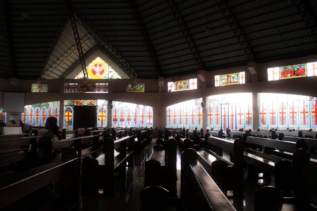 Our Lady of Lourdes Church, Bangkal