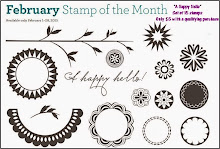 The February Stamp of the Month