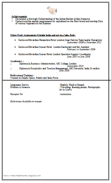 Free Download Link Sale U0026 Marketing Resume Sample Doc  Sales And Marketing Resume Sample