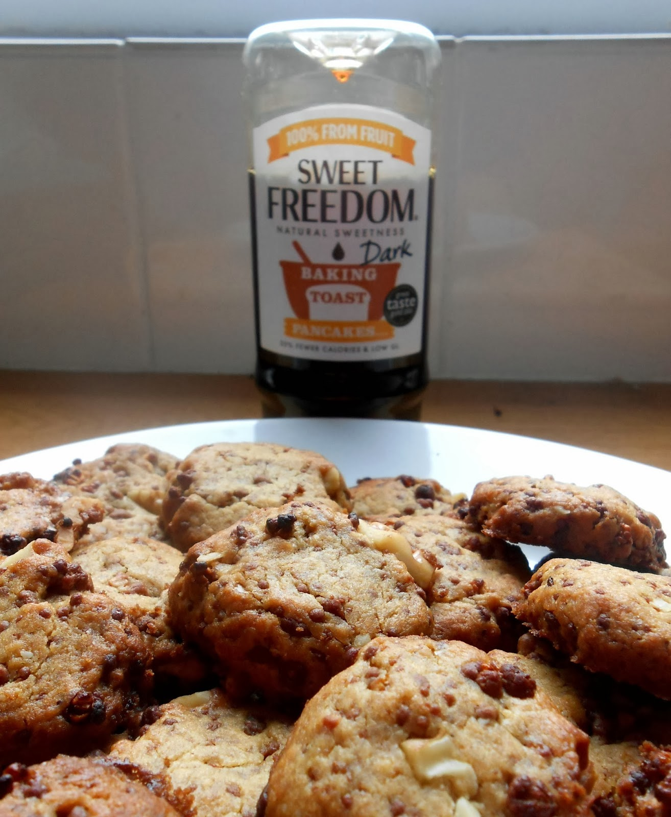 Sweet Freedom Dark Chocolate Chip Cookies