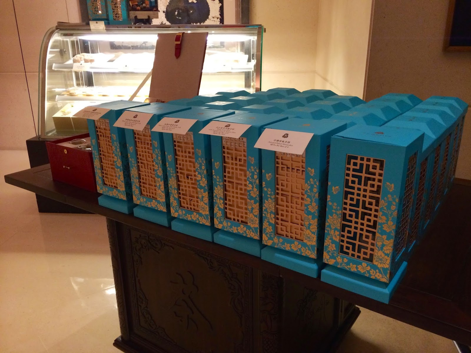 Mooncakes at Yang Ting Singapore