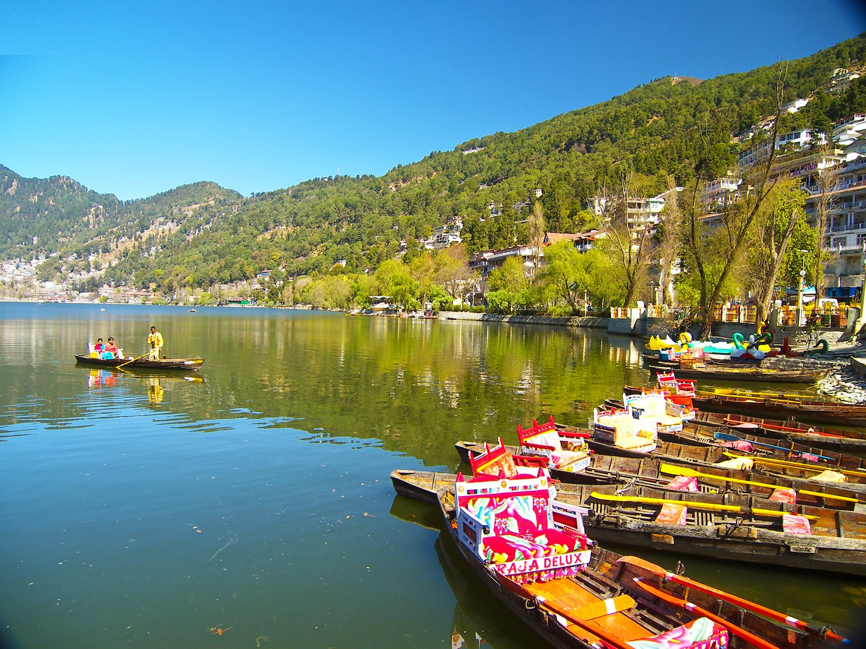 Hd wallpaper uttarakhand - Nainital Lake