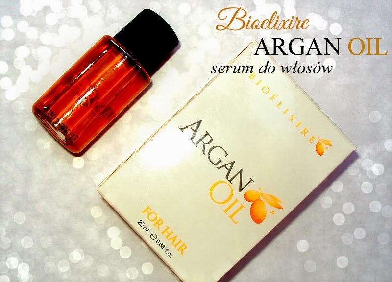 Bioelixire, Argan Oil Serum (Serum do włosów z olejkiem arganowym)