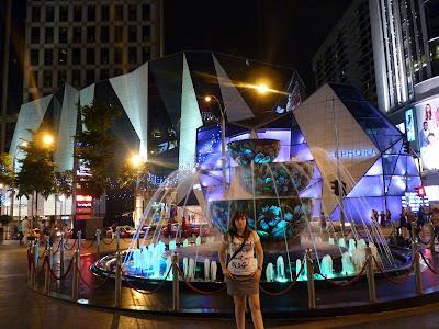 fuente de cristal pavilion