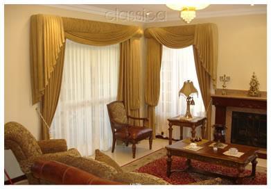 Dise o de interiores de casas cortinas - Decoracion de interiores cortinas ...
