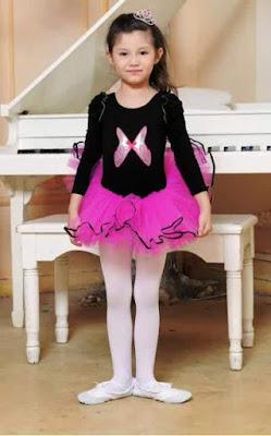 Model Kostum Balet Anak Perempuan