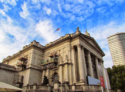 London, Visit, UK, art gallery, exhibition, Tate Britain, Vauxhall, scaffolding, repair,  Millbank, free, day trip, building, s