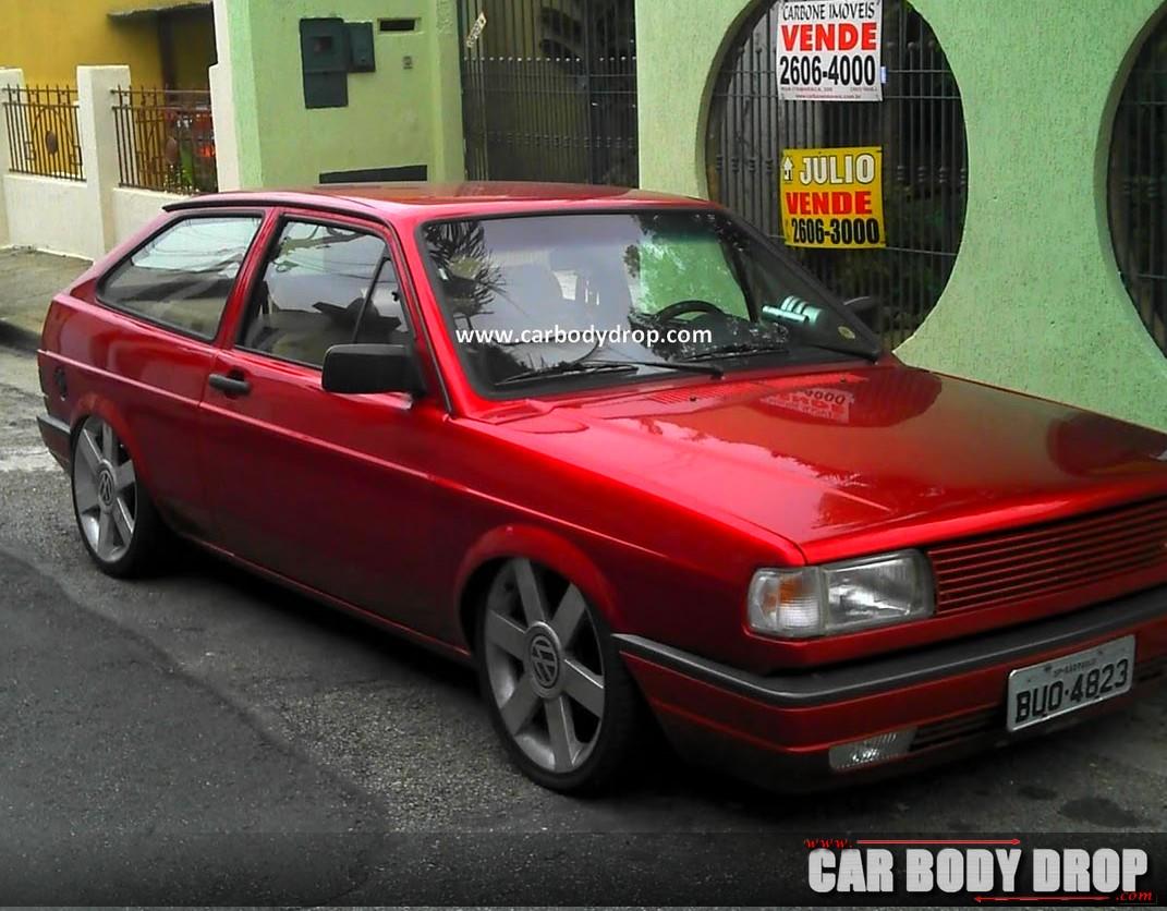 Gol Vermelho Turbo Car Body Drop Desde 2011 No Ar