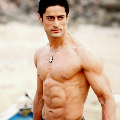 Mohit Raina Shirtless Six pack