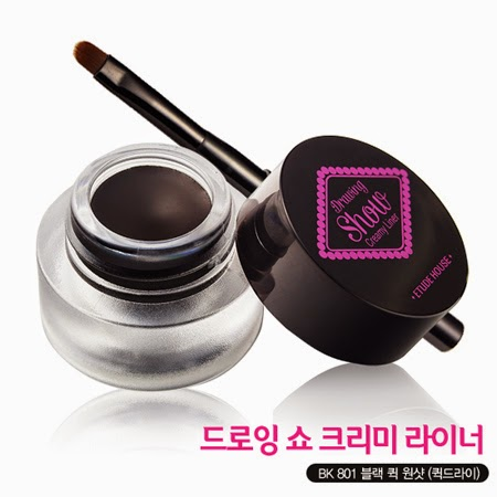 Jual ETUDE House Drawing Show Creamy Liner 3.5gr #BK802