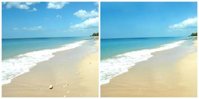 Редактируем пляж