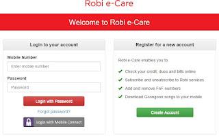 Robi Online Customer Service