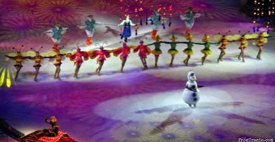 Olaf And Summer Frozen On Ice